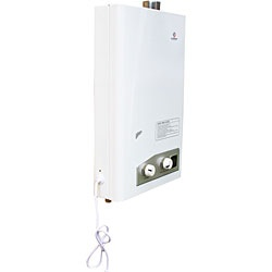 @Overstock - Eccotemp FVI-12 is an indoor high efficiency, tankless water heating systemWater heater is perfect for vacation cabins, cottages and smaller homesGreen and efficient, the FVI-12 only uses energy when you turn on the hot waterhttp://www.overstock.com/Home-Garden/Eccotemp-Forced-Vent-Indoor-Tankless-Water-Heater/4607527/product.html?CID=214117 $269.00