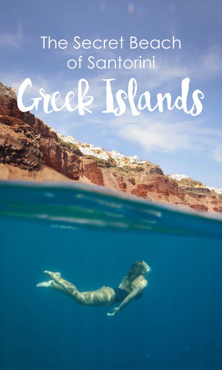 The Secret Beach of Santorini by The Wandering Lens…