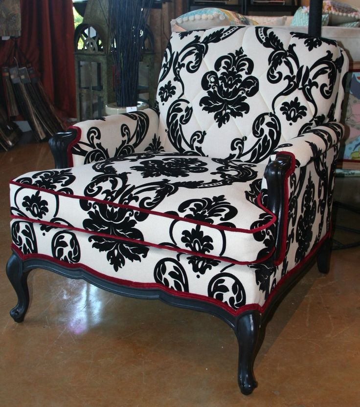 chair love especially the red trim