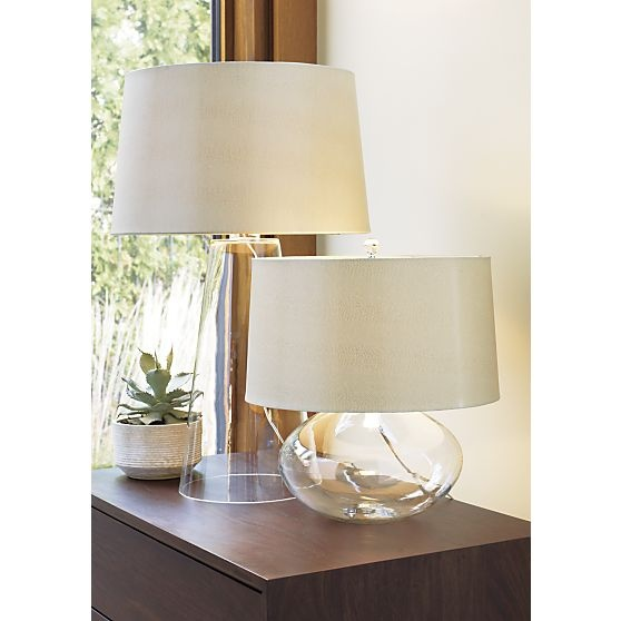 Zak table lamp in table desk lamps crate and barrel tall one is