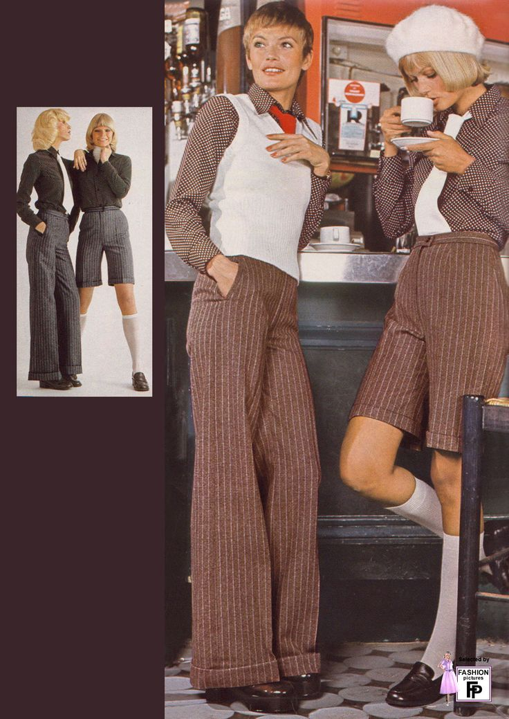 How about these bell bottoms and platforms?