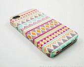 Aztec Geometric  iPhone 4 Case, iPhone 4s Case, iPhone 4 Cover, Hard iPhone 4 Case