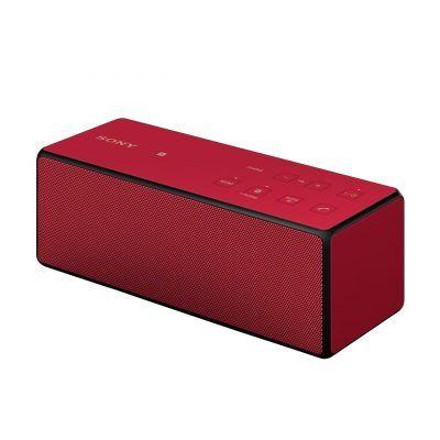 Sony SRS-X3 altavoz portátil 20 W (NFC, Bluetooth, 3.5 mm), rojo por 45,10 €  Escucha unos graves rotundos que harán que te quieras mover. Los altavoces pasivos duales son diafragmas para altavoces que reaccionan a la circulación de aire que pasa a través del altavoz, lo cual crea artificialmente espacio en la caja del altavoz.   #chollos #mp3 #musica #ofertas