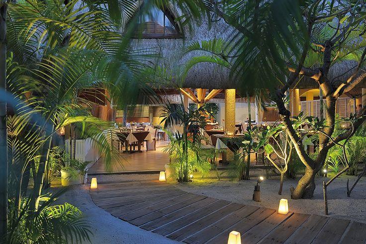 Enjoy romantic dinners in a superb beach location at La Serenata specialising in Italian cuisine.