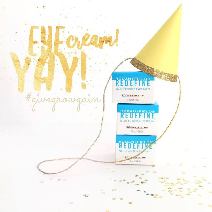 Eye scream, you scream, we all scream for EYE CREAM! YAY!!  This jar of goodness is my favorite for combatting dark circles after a restless night with the kiddos. I use it twice a day and never delay!  *Redefine Multifunction Eye Cream*