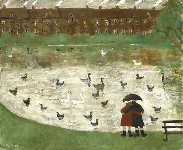 Gary Bunt, Down by the Pond 1957.