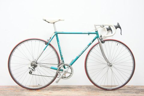 Vintage racer bicycle brakes