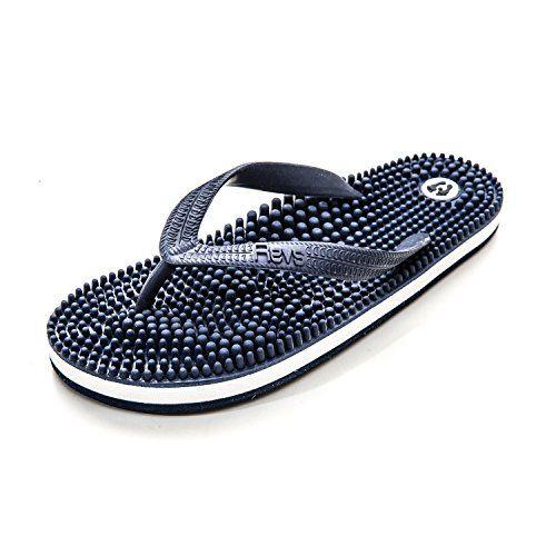 Revitalise Your Sole - Revs Reflexology Massage Flip Flops, Navy - http://www.cwebmarket.com/women/women-shoes/sandals/revitalise-your-sole-revs-reflexology-massage-flip-flops-navy/