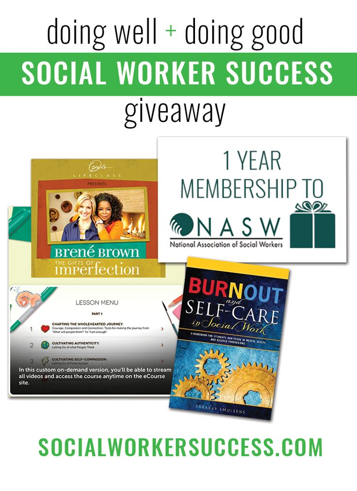 Social Work Month 2016 Giveaway