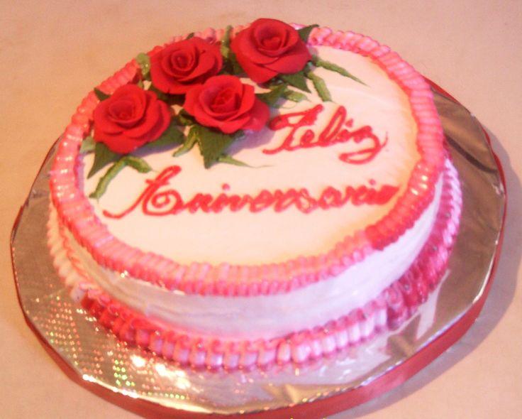 Pasteles Aniversarios Pictures To Pin On Pinterest: Esta Torta Fue Un Regalo Para Un Aniversario De Casados