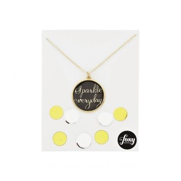 Sparkle Everyday Necklace in Gold