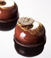Image result for crunchy praline feuilletine sweet chestnut ganache fine dining plating
