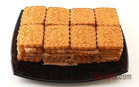 Торт из печенья и творога, без выпечки - пошаговый фото рецепт приготовления