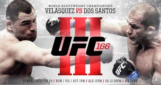 Cain Velasquez x Junior dos Santos – UFC 166 Ao Vivo | Esportes e Jogos