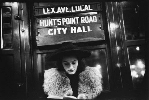 Typefaces used by NYC Subway in 1930s and 40s as seen in Walker Evans photos | Typophile