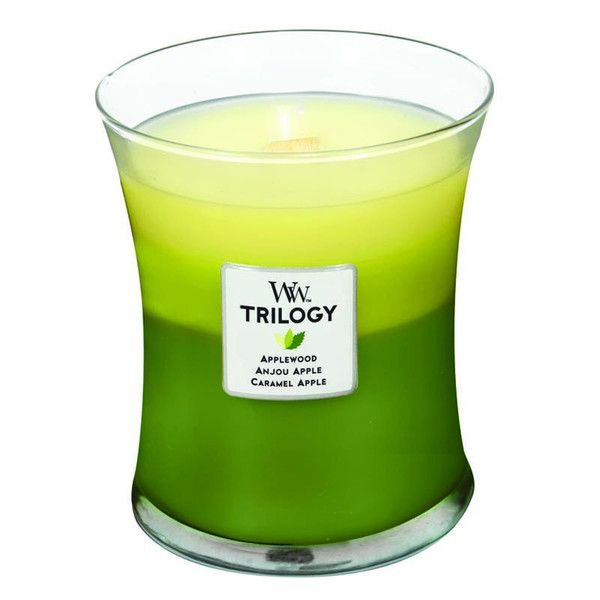 WoodWick Trilogy Apple Festival Scented Candle – Just Scented Candles