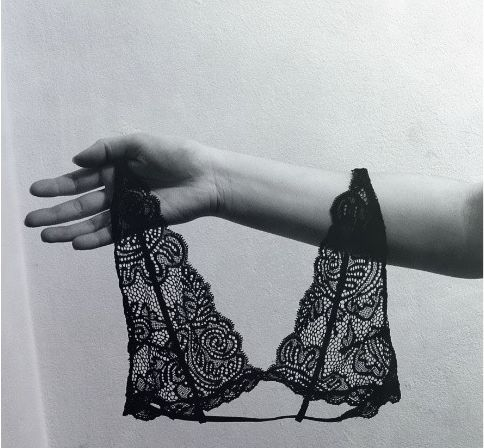 lace bra by charlotte_rouge