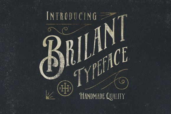 Brilant Typeface by ilhamherry on Creative Market