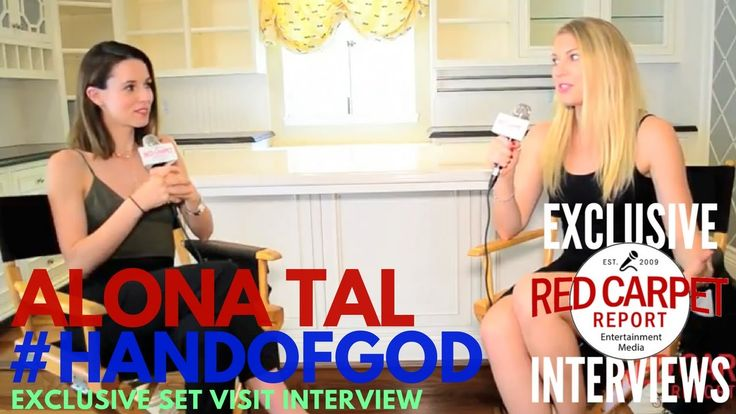 "Alona Tal interviewed at ""Hand of God"" S2 Set Visit Watch Series on 3/10 RCRs @KeetinMarchi talks to @talalona about S2 of @HandofGodAmazon during set visit #@WeAskMore"