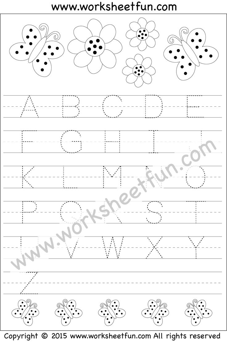 Worksheetfun Tracing Letter : Best letter tracing images on pinterest