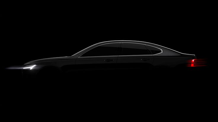 Volvo teases its upcoming S90 full-size sedan, full reveal coming in January