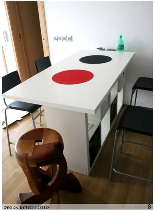 3-in-1 Expedit Kitchen Counter by IKEA Hackers ~ AllThingAbout