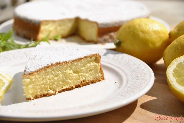 Glutenfreeely: Torta al limone senza glutine - Lemon cake
