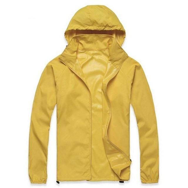 Unisex Lightweight Jacket UV Protect+Quick Dry Windproof Skin Coat for Women and Men