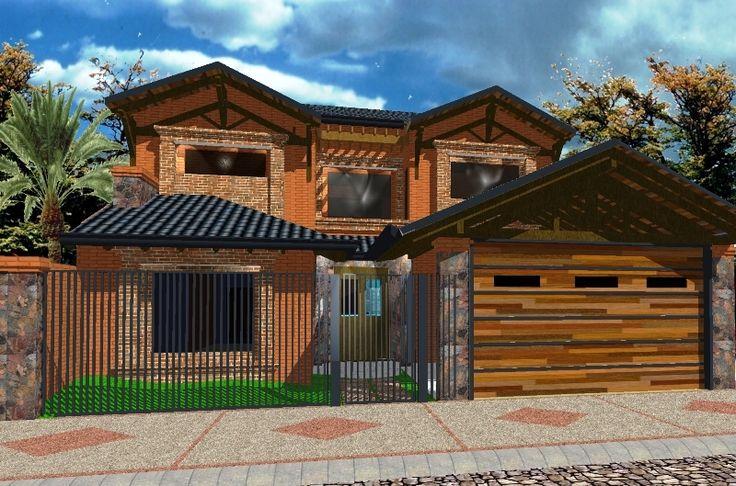 Fachadas de casas en paraguay buscar con google casas for Diseno piscinas modernas colombia