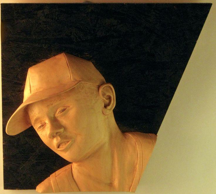Ste 2011,   Lime wood   24 x 24 cm  Sim woodcarving