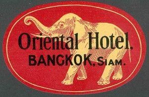 Oriental Hotel at Bangkok