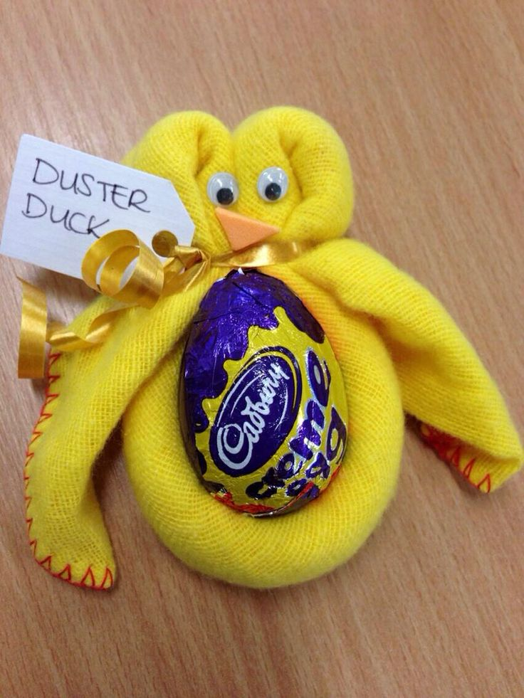 Duster chick for Easter