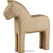 Paard van papier maché   Hobby Gigant