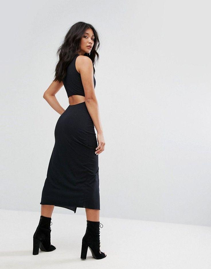 ¡Consigue este tipo de vestido informal de AllSaints ahora! Haz clic para ver los detalles. Envíos gratis a toda España. Vestido negro con abertura en el muslo de AllSaints: Vestido de AllSaints, Punto de algodón, Cuello redondo, Diseño con abertura en la espalda, Falda cruzada, Corte entallado con diseño ajustado en el cuerpo, Lavar a mano, 100% algodón, Modelo: Talla UK S/EU S/USA XS; Altura de 170 cm/5'7. Creada y desarrollada en el este de Londres, AllSaints revolucionó el sector ...