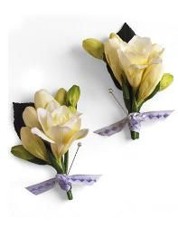Hug Proof  A boutonniere can stand only so many hugs. All that love plus heat and lack of water can leave flowers   wilted. Ask your florist to make two   boutonnieres for the groom one for   the ceremony and one for pictures.   Some florists will provide the extra   one at no cost.