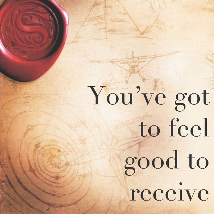 Whatever you desire on any subject – health, wealth, career, or love – is on the frequency of feeling good. You've got to feel good to receive it.