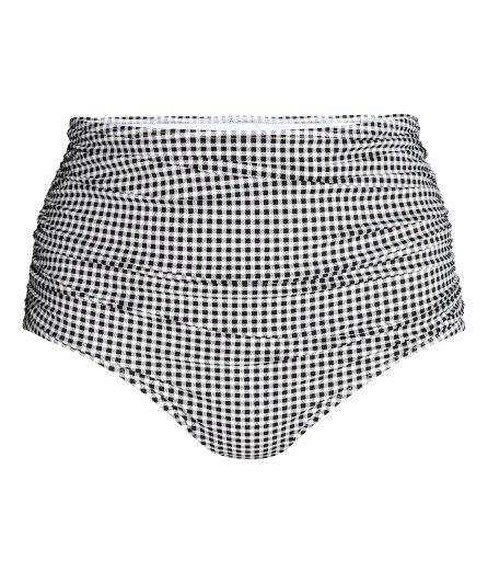 Sieh's dir an! Durchgehend gefütterte Bikinihose mit drapiertem Vorderteil. Hoch geschnitten. – Unter hm.com gibt's noch viel mehr.