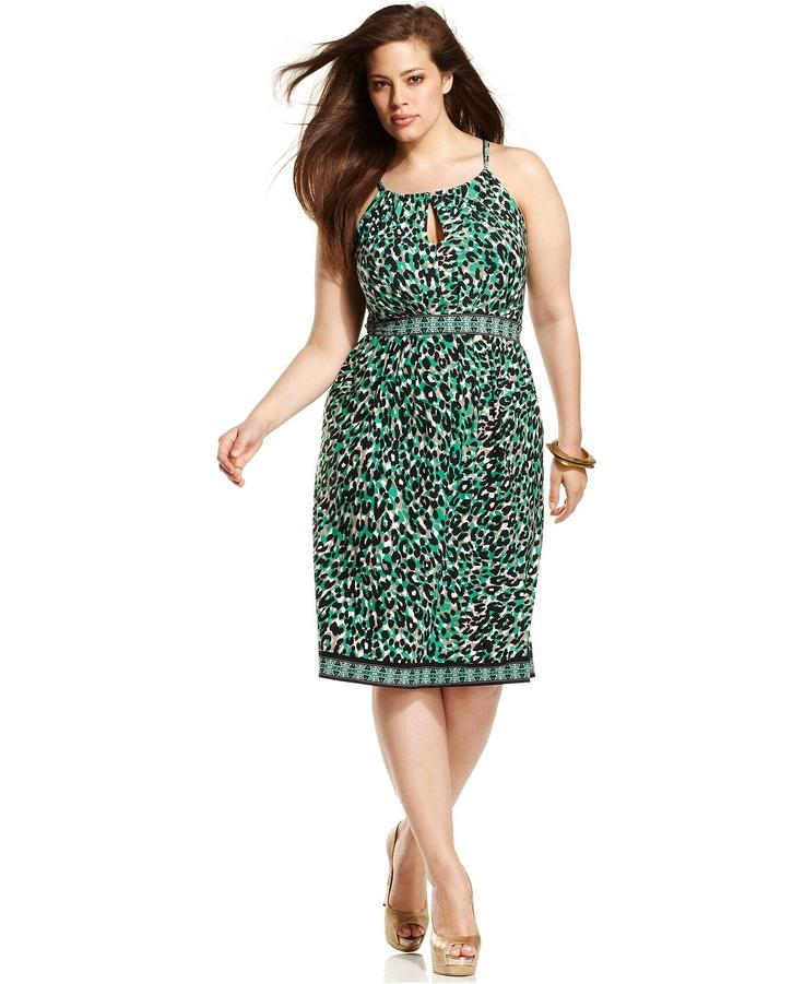 47 Best Images About Plus Size Leopard Print Dress On