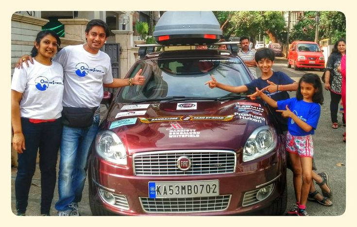 This Adventurous Indian Family Drove A Car From Bengaluru To Paris Over 111 Days