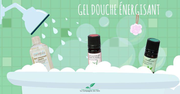 Gel douche énergisant aux huiles essentielles pour un réveil tonique !