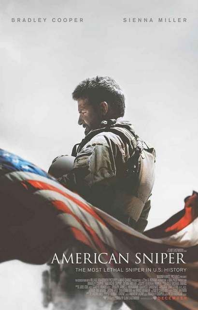 "A great American Sniper movie poster! Bradley Cooper stars as US Navy Seal Chris Kyle - the ""most lethal sniper"" in US military history. Ships fast. 11x17 inches. Need Poster Mounts..?"