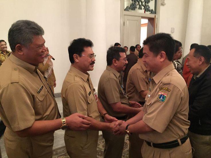 Silaturahmi Lebaran dengan Gubernur dan jajaran