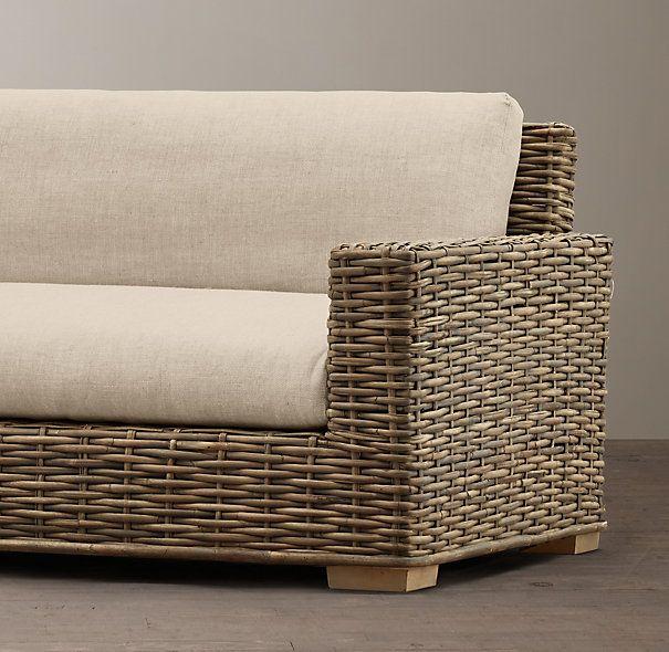 Die besten 25+ Sofa rattan Ideen auf Pinterest Rattan couch - mobel fur balkon 52 ideen wohnstil