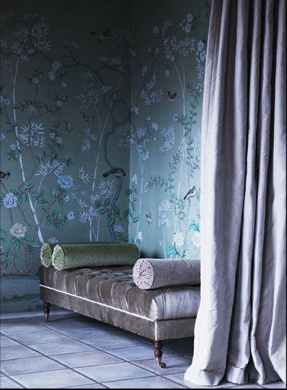 40 besten tapete mal anders Bilder auf Pinterest Tapeten - wohnzimmer tapete blau