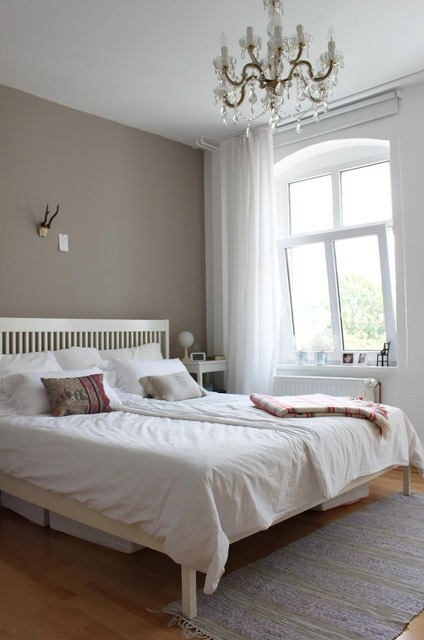 22 best images about bedroom color schemes and feature for Grey feature wallpaper bedroom