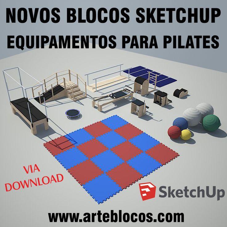 25 melhores ideias de blocos sketchup no pinterest p for Mobilia para sketchup 8