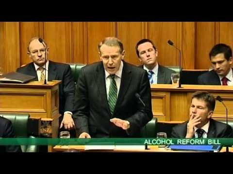 Alcohol Reform Bill - Committee Stage - Paul Hutchison