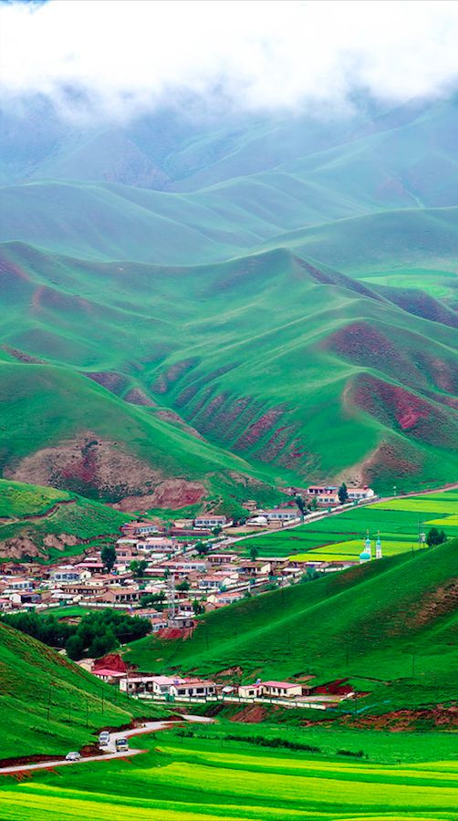 Beautiful landscape of Qinghai in northwest China • photo: Mei on foto @ you