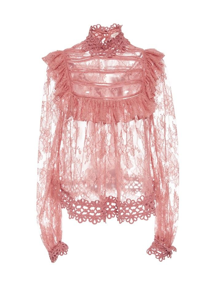 Must-Have: Lace Blouse via @WhoWhatWearAU