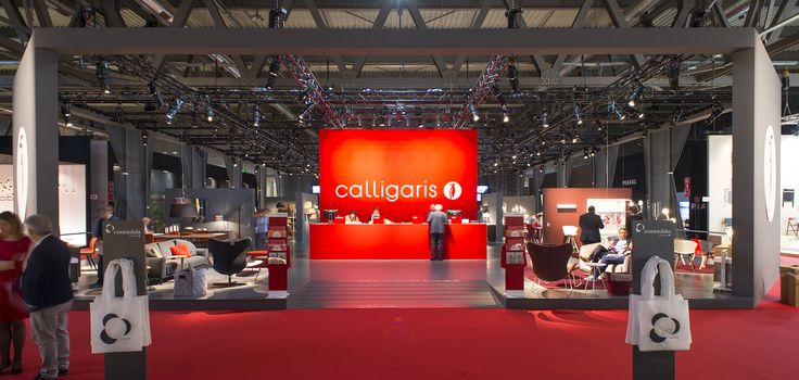The Calligaris stand in its new look was the elegant container of the new collections and showed all visitors new ideas of contemporary design. #calligaris #modern #italian #furniture